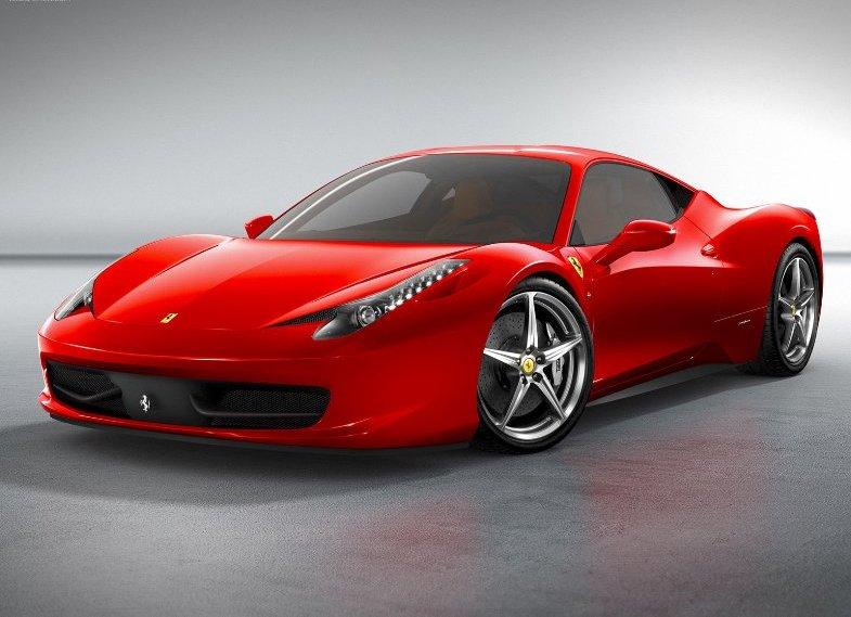 Красный цвет автомобиля для мужчин