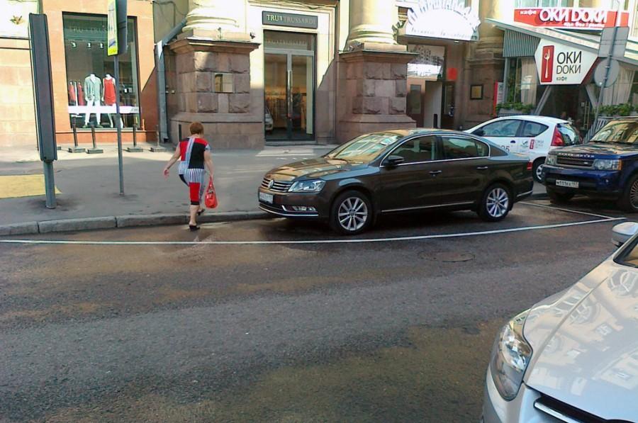 улица без парковки
